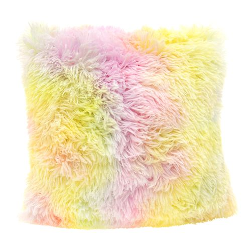 Fluffy pillowcase Elmo 40x40 Rainbow