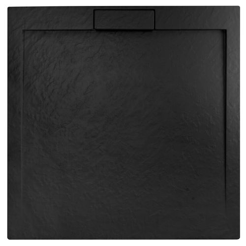 Shower tray Grand Black 90x90